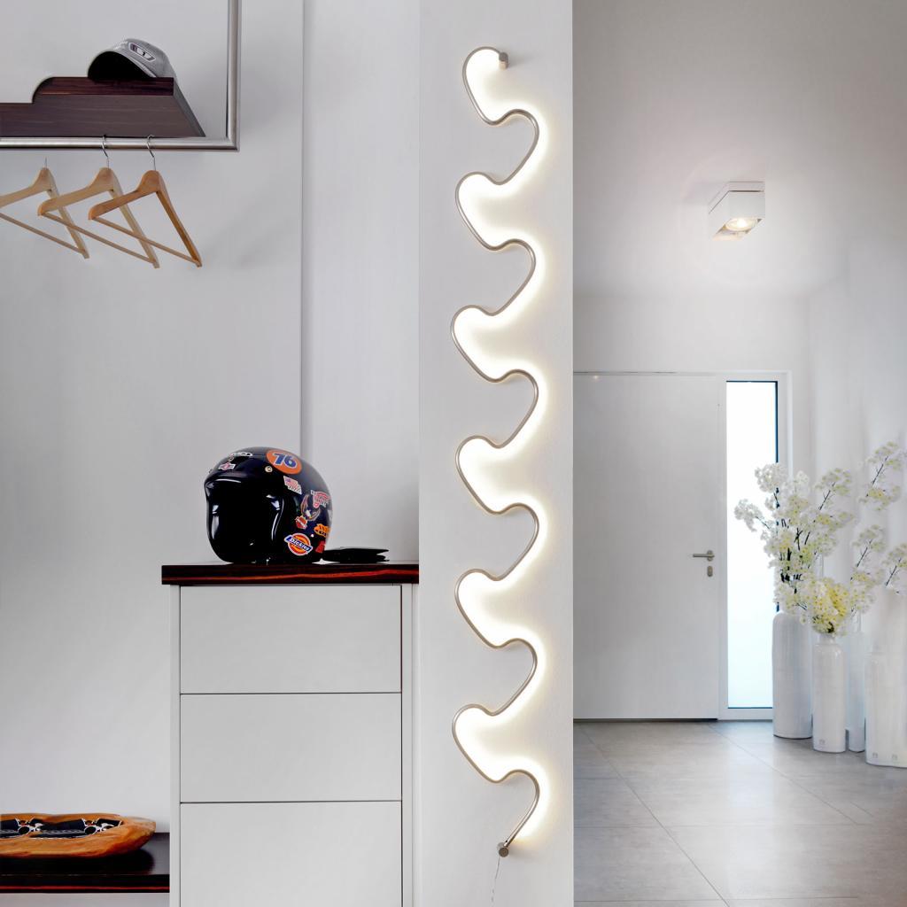 Produktové foto Sompex LED nástěnné světlo Step s vypínačem