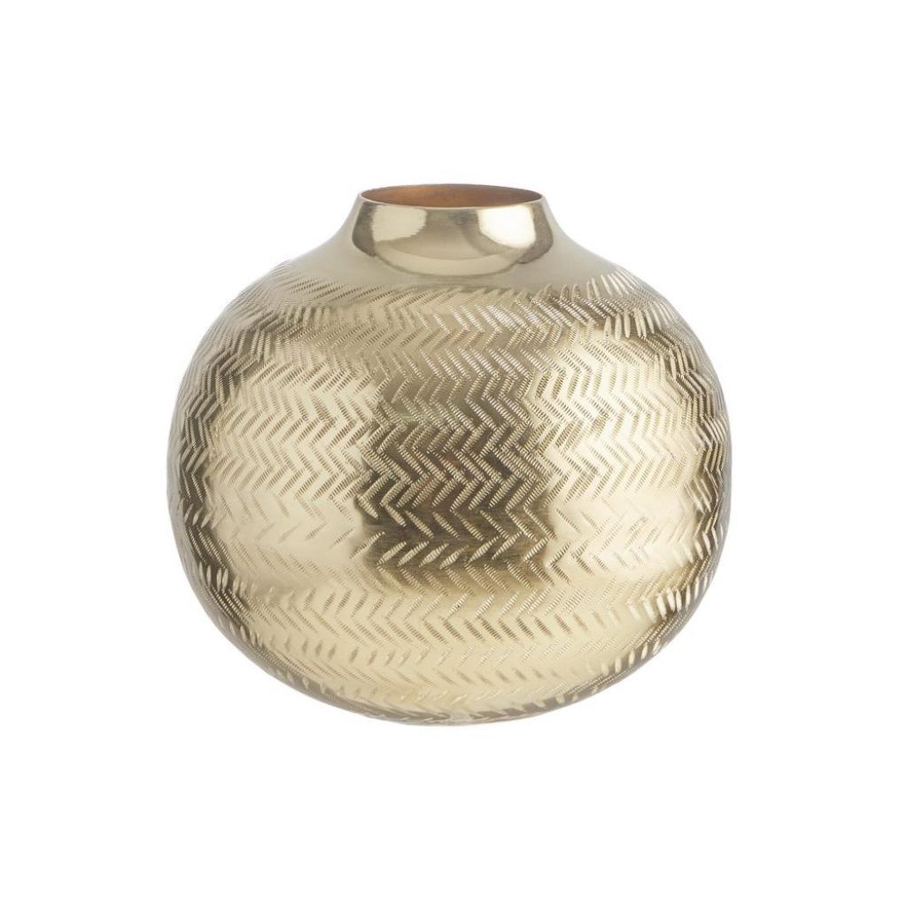 Produktové foto BALI Kovová baňatá váza 20 cm