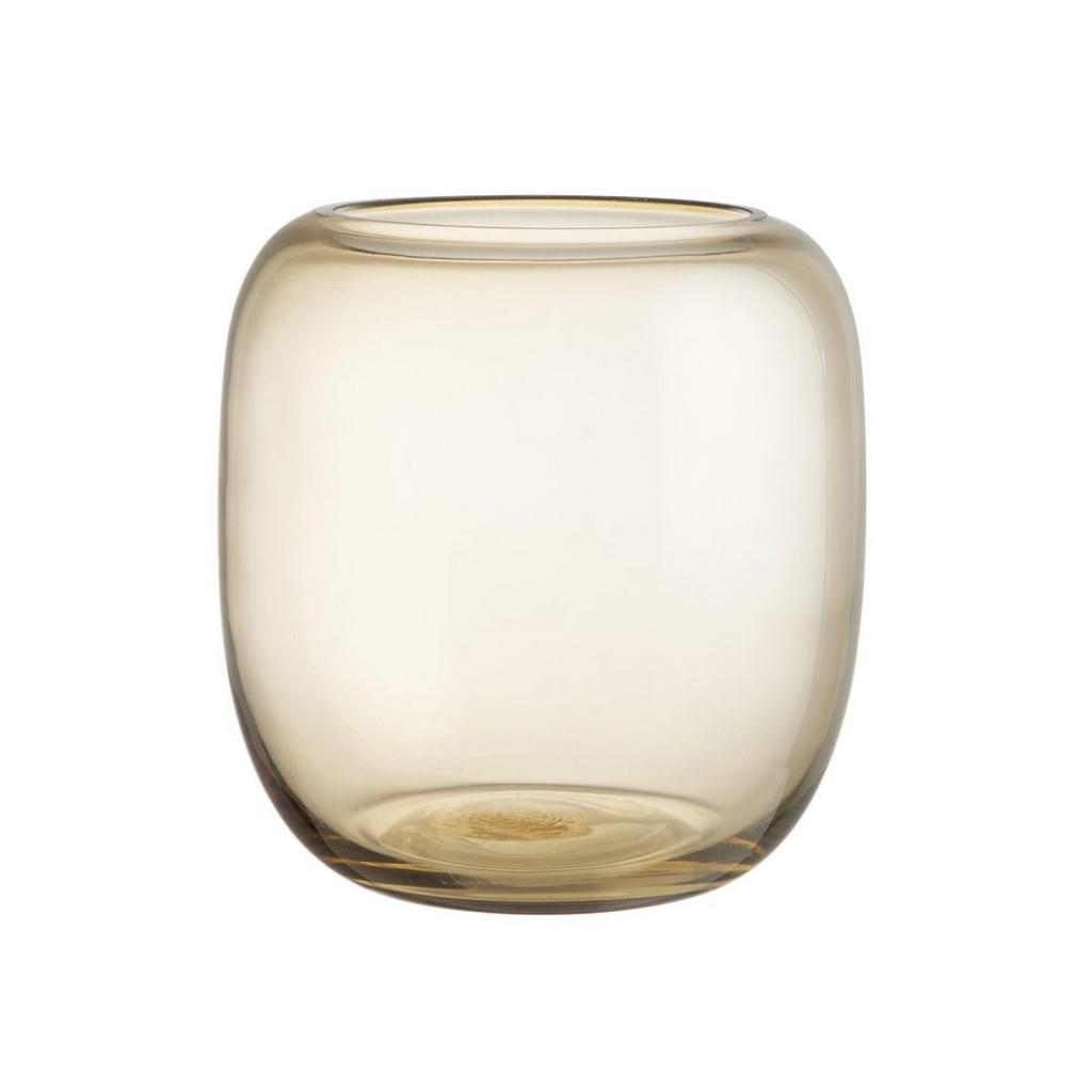 Produktové foto DONNA Váza baňatá 20 cm - sv. hnědá