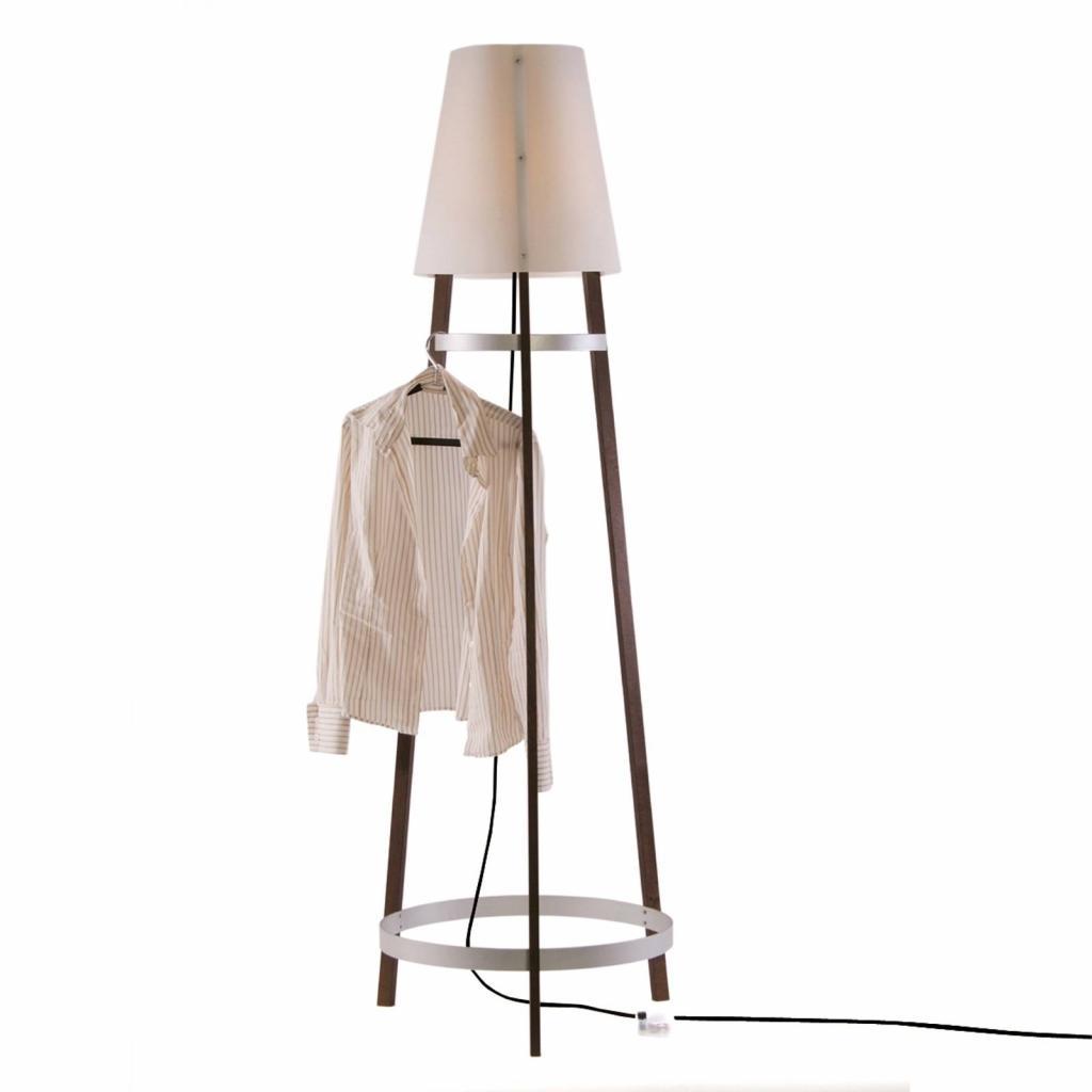 Produktové foto Domus Stojací lampa Wai Ting kabel antracit maron