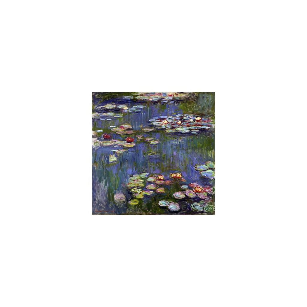 Produktové foto Reprodukce obrazu Claude Monet - Water Lilies,50x50cm