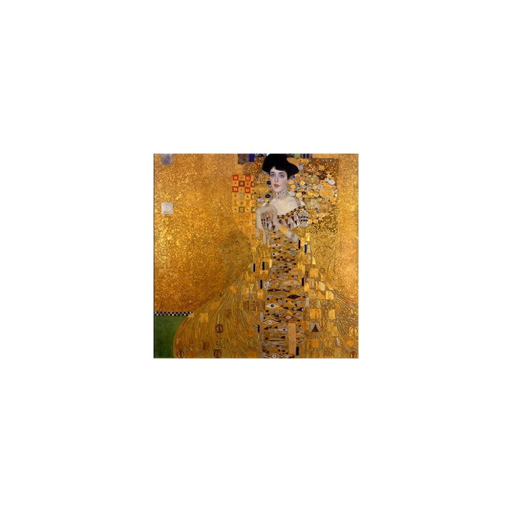 Produktové foto Reprodukce obrazu Gustav Klimt - Adele Bloch Bauer I, 40x40cm