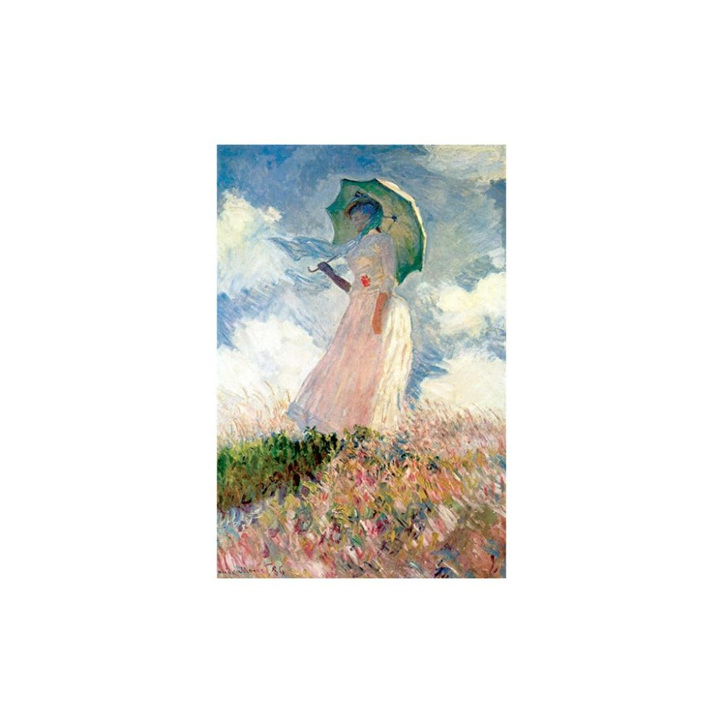 Reprodukce obrazu Claude Monet - Woman with Sunshade, 60 x 40 cm