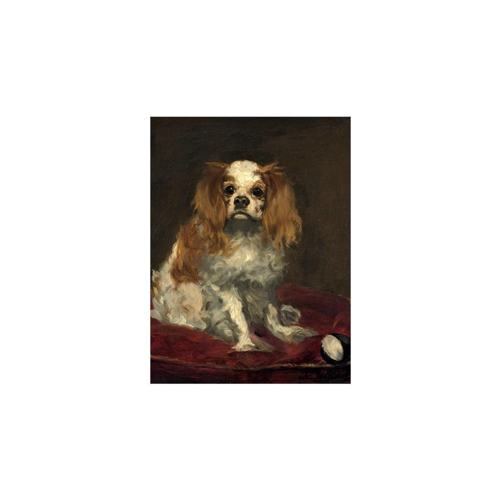 Produktové foto Reprodukce obrazu Édouard Manet - A King Charles Spaniel,40x30cm