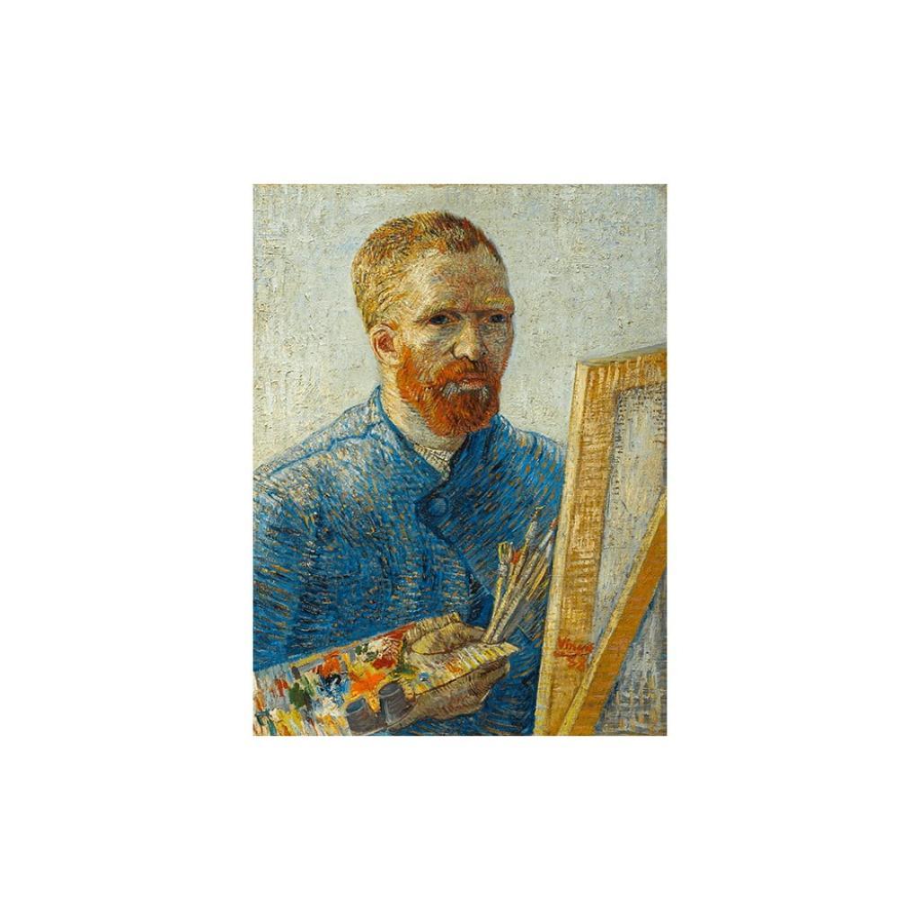 Produktové foto Reprodukce obrazu Vincent van Gogh - Self-Portrait as a Painter,60x45cm