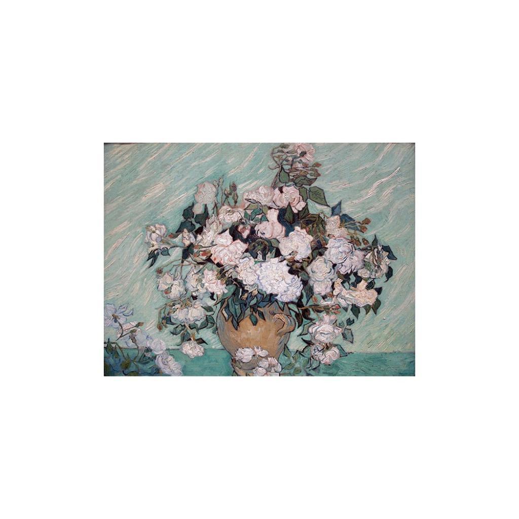Produktové foto Reprodukce obrazu Vincent van Gogh - Rosas Washington,40x30cm
