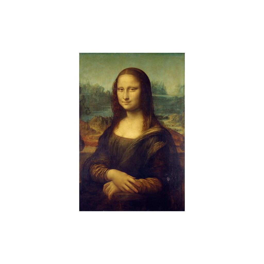 Produktové foto Reprodukce obrazu Leonardo da Vinci - Mona Lisa,60x40cm