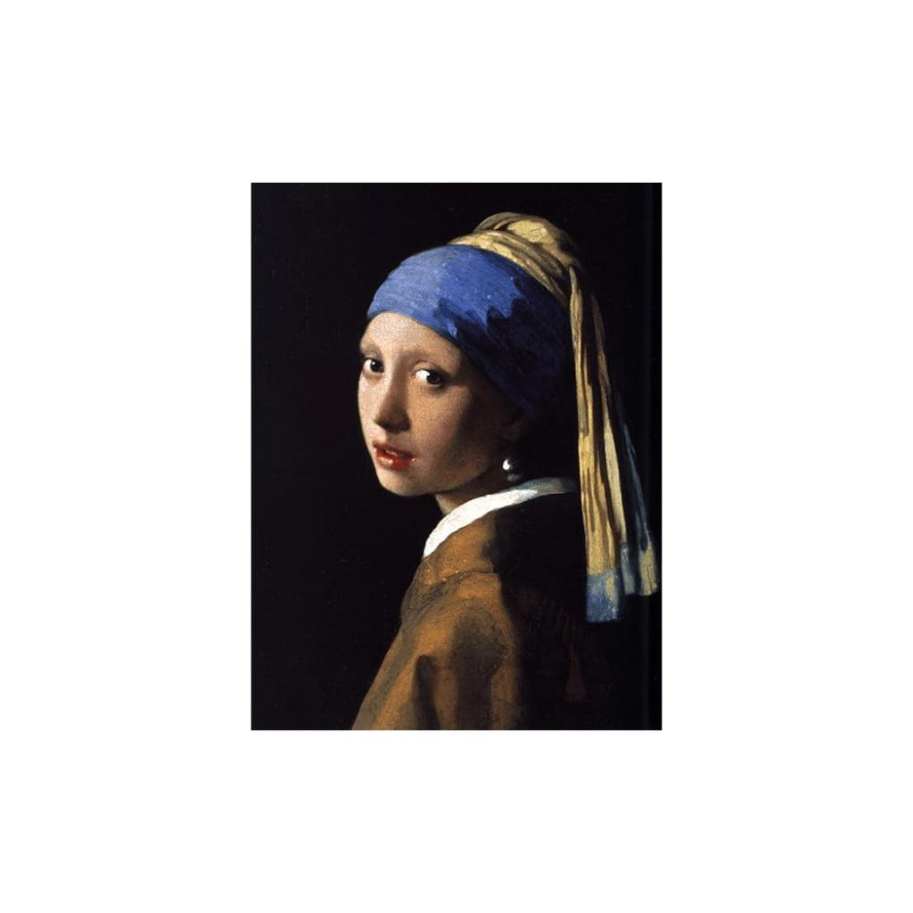 Produktové foto Reprodukce obrazu Johannes Vermeer - Girl with a Pearl Earring, 70 x 50 cm