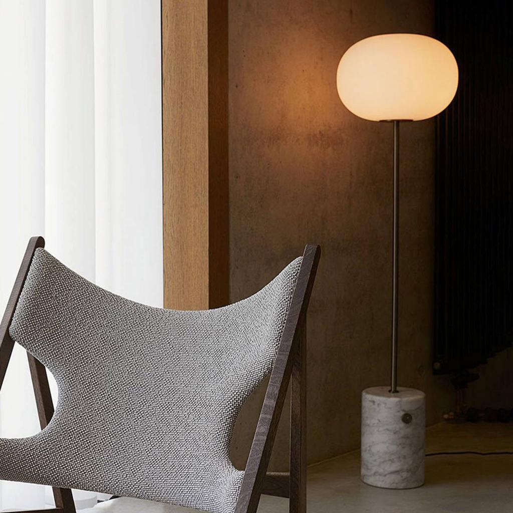 Produktové foto MENU Menu JWDA Stojací lampa ze světlého mramoru