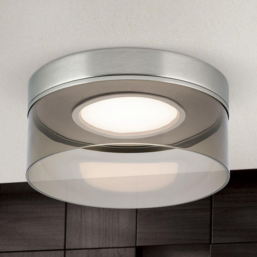 Produktové foto Orion LED stropní svítidlo Francis nikl matný Ø 30 cm