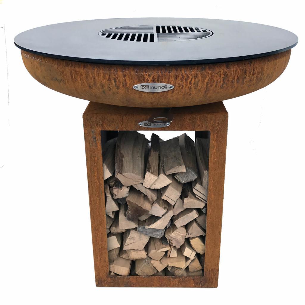 Produktové foto Venkovní ohniště s grilem Remundi Carus S