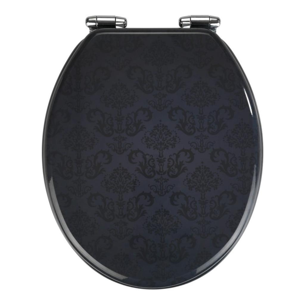 Produktové foto WC sedátko se snadným zavíráním Wenko Bellevue, 42,5 x 35,5 cm