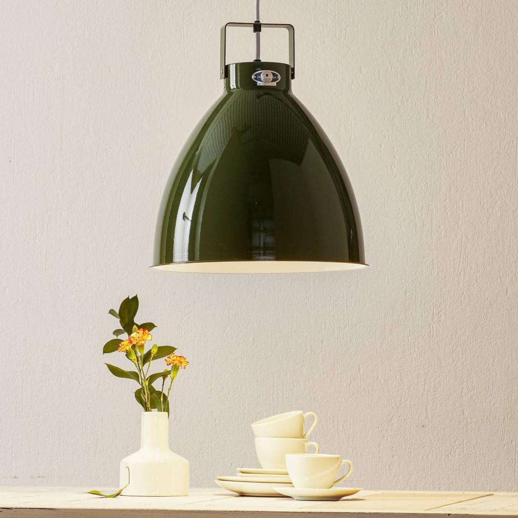 Produktové foto JIELDÉ Jieldé Augustin A360 závěsné světlo olivová lesklá