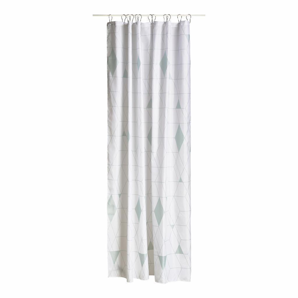 Produktové foto Sprchový závěs 180 x 200 cm dusty green HARLEQUIN ZONE