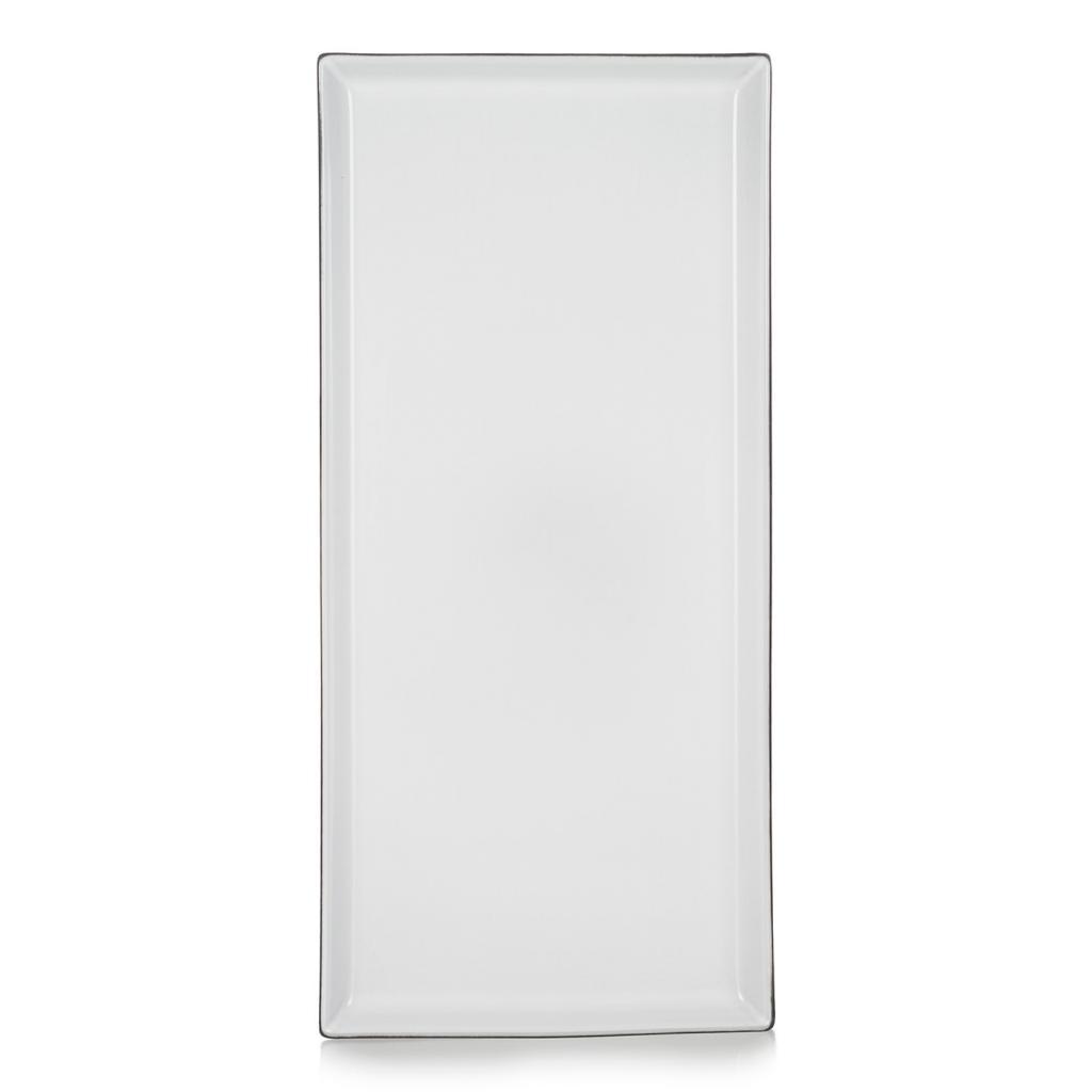 Produktové foto Talíř/podnos 32,5 x 15 cm White Cumulus Equinoxe REVOL