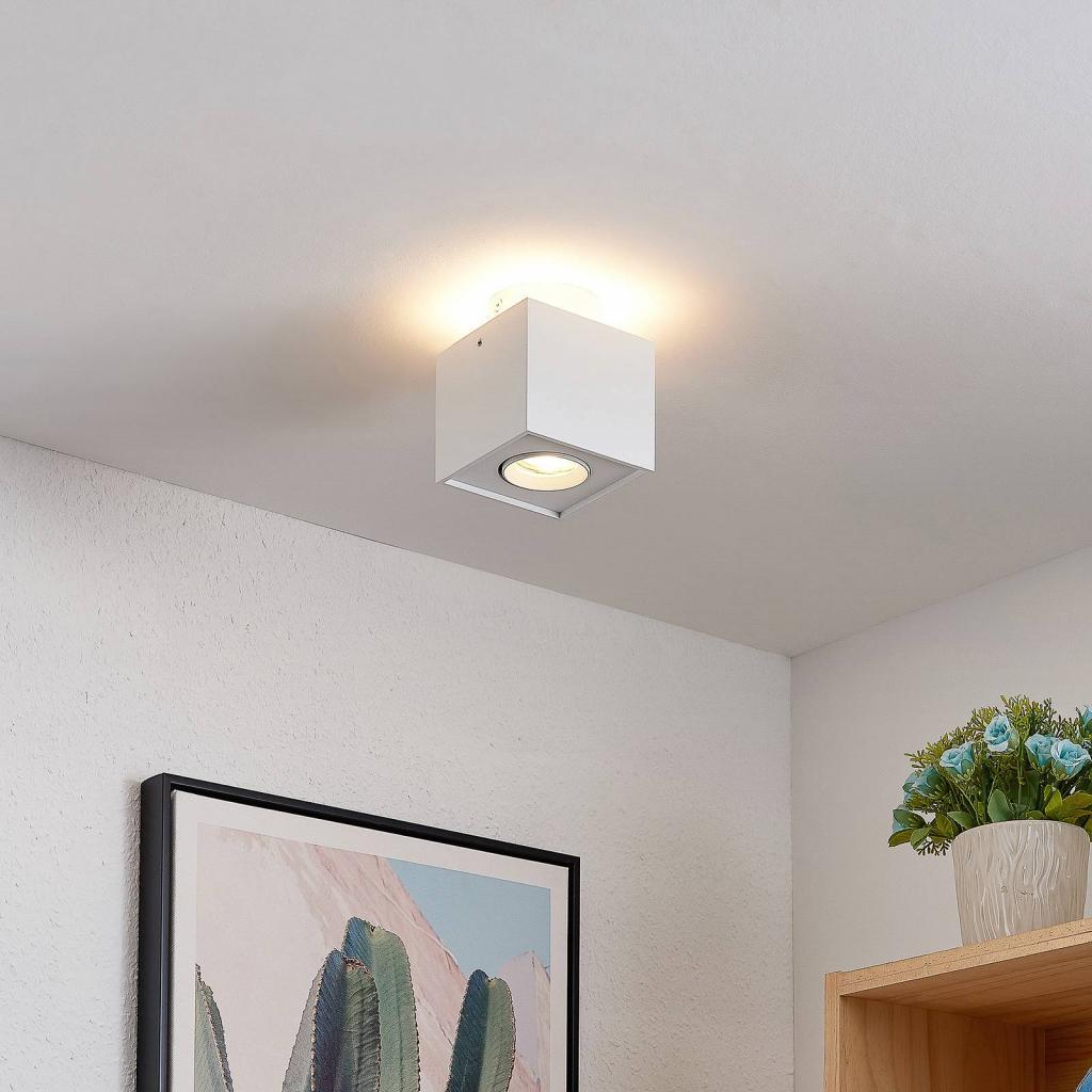 Produktové foto Arcchio Arcchio Walisa LED stropní svítidlo hranaté, bílé