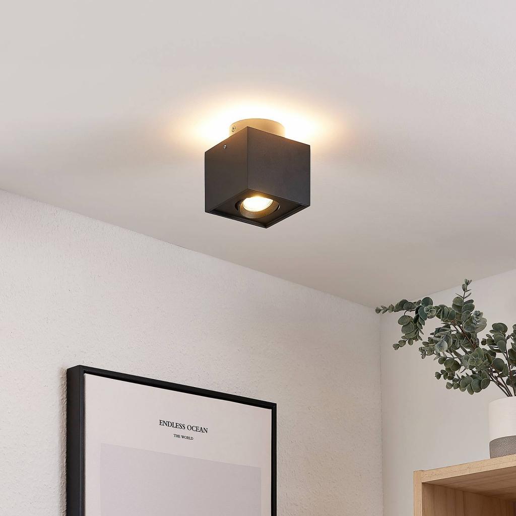 Produktové foto Arcchio Arcchio Walisa LED stropní světlo, hranaté, černé
