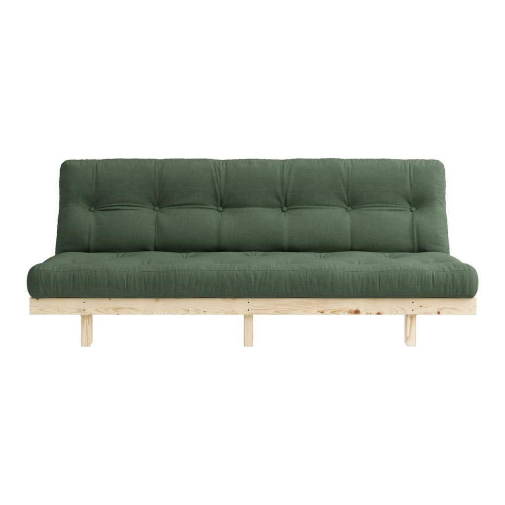 Produktové foto Variabilní pohovka Karup Design Lean Raw Olive Green