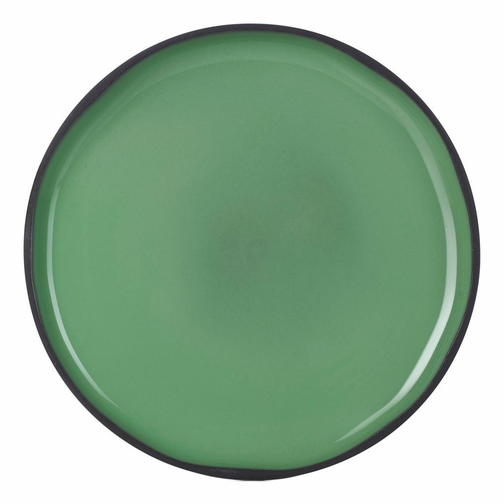 Produktové foto Snídaňový talíř mátový Mint CARACTERE REVOL