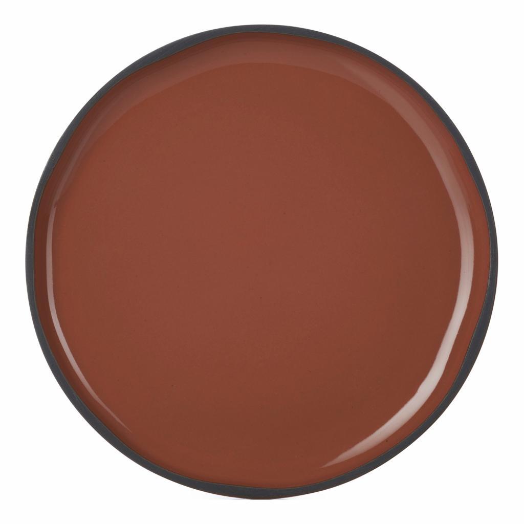Produktové foto Snídaňový talíř skořicový Cinnamon CARACTERE REVOL