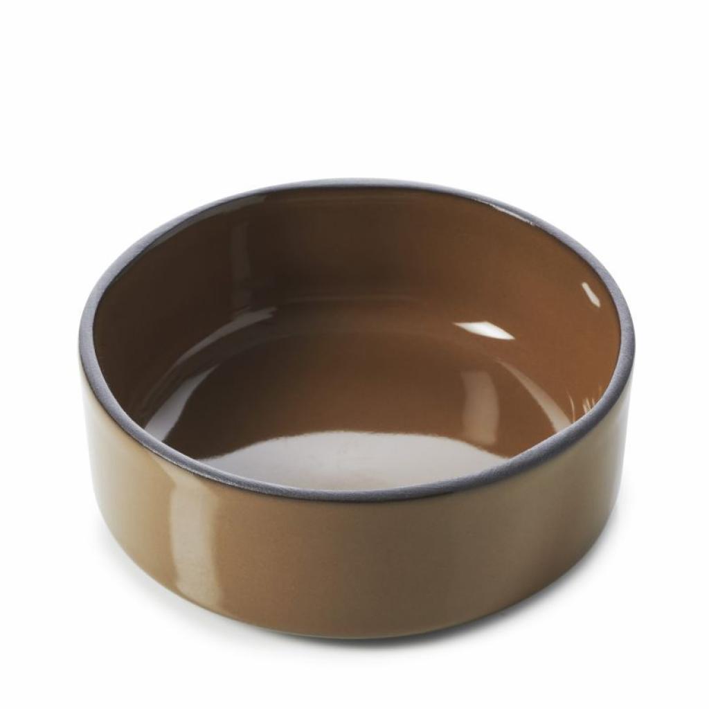 Produktové foto Miska Caractere Revol čokoládová 11 cm
