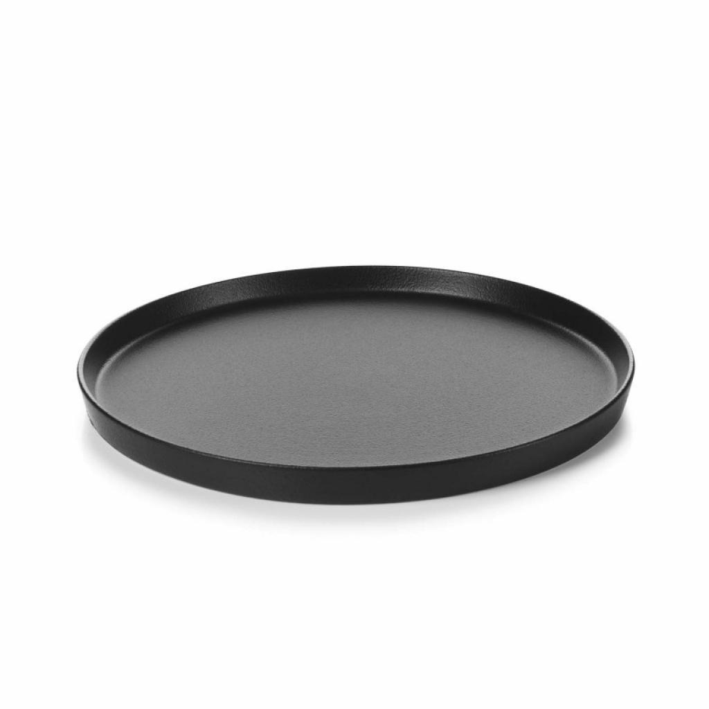 Produktové foto Mělký talíř Adelie Revol černý 22 cm
