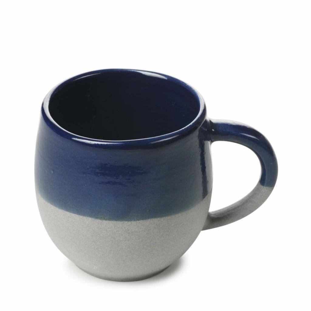 Produktové foto Hrnek s ouškem No.W Revol modrý glazovaný 330 ml