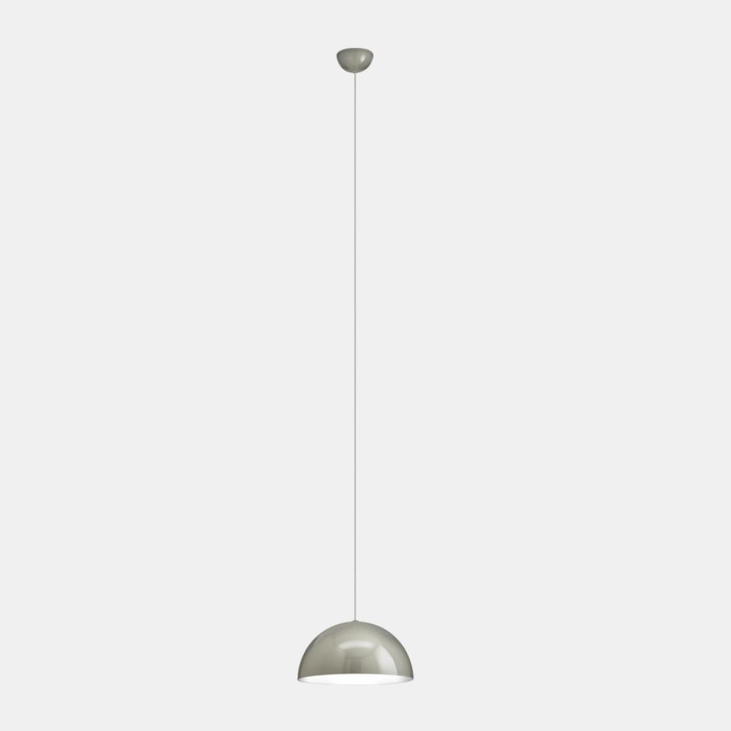 Produktové foto Il Fanale Sunset, závěsné svítidlo z hliníku v šedé úpravě, 1x46W E27, prům. 30cm