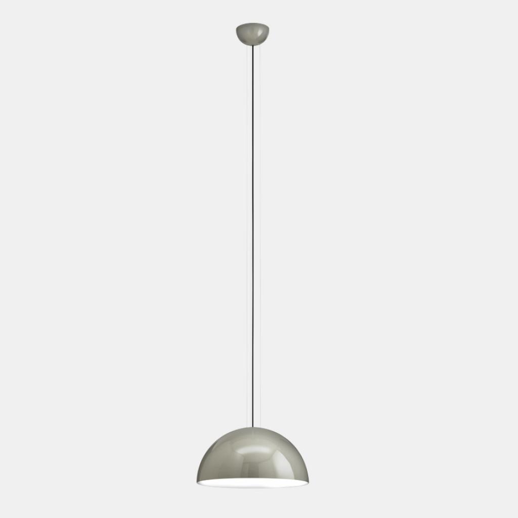 Produktové foto Il Fanale Sunset, závěsné svítidlo z hliníku v šedé úpravě, 1x77W E27, prům. 40cm