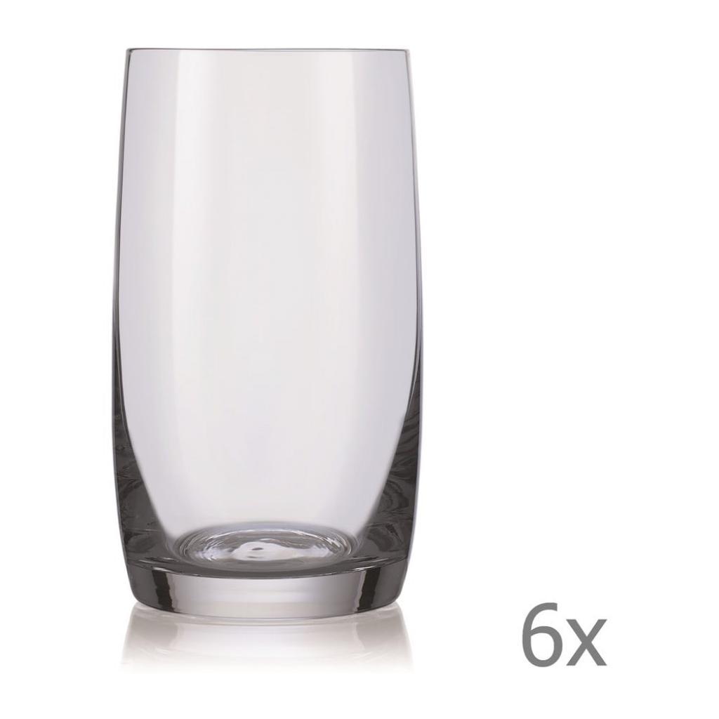 Produktové foto Sada 6 sklenic na whisky Crystalex Ideal,380ml