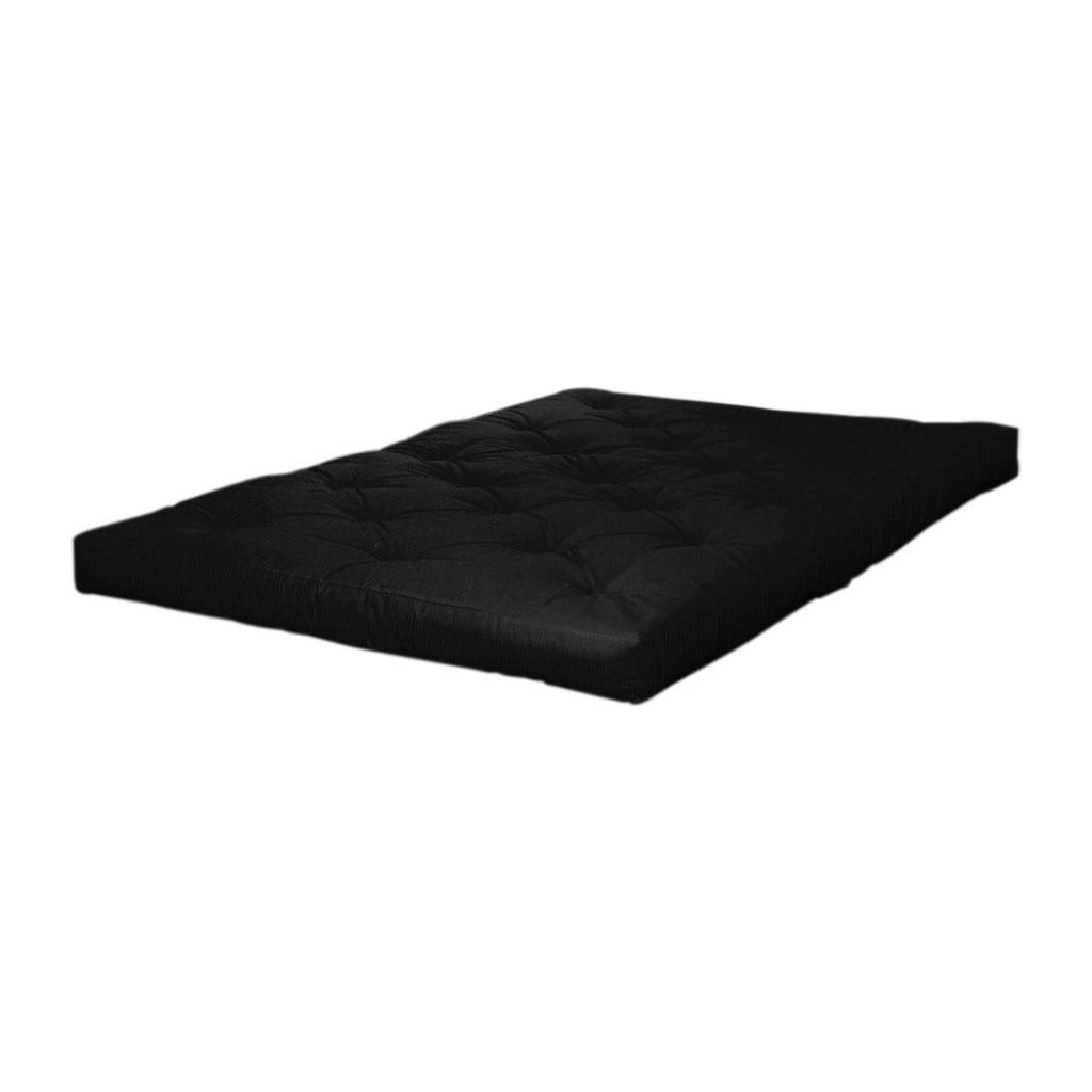 Produktové foto Černá futonová matrace Karup Design Coco Futon,90x200cm