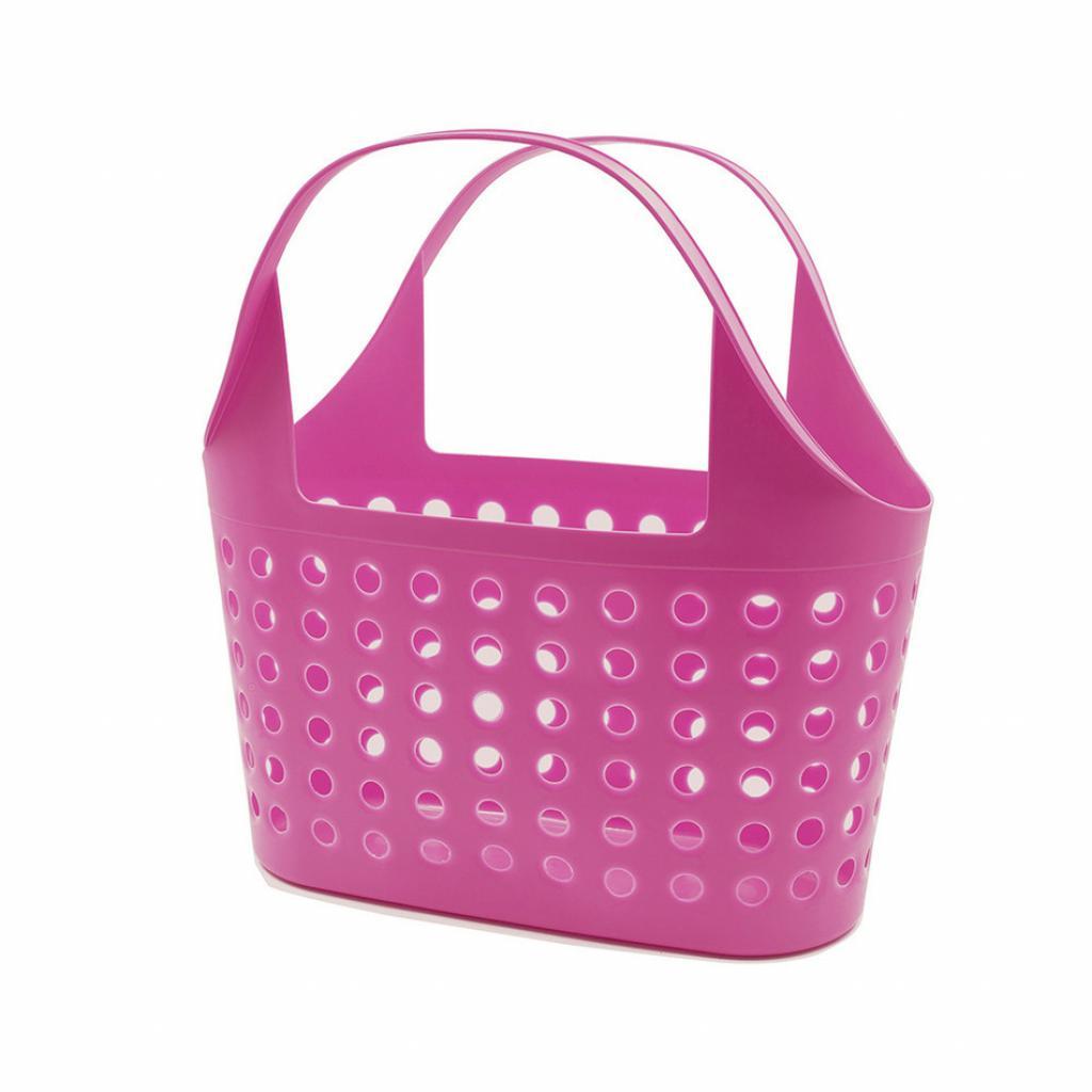 Produktové foto Plastová nákupní taška Soft 11 l, růžová