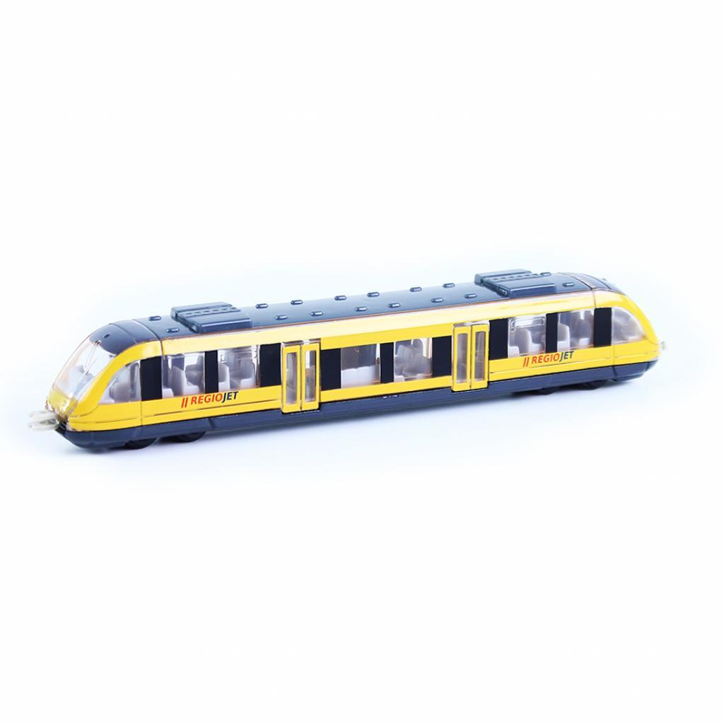 Produktové foto Rappa Kovový regionální vlak RegioJet, 17 cm