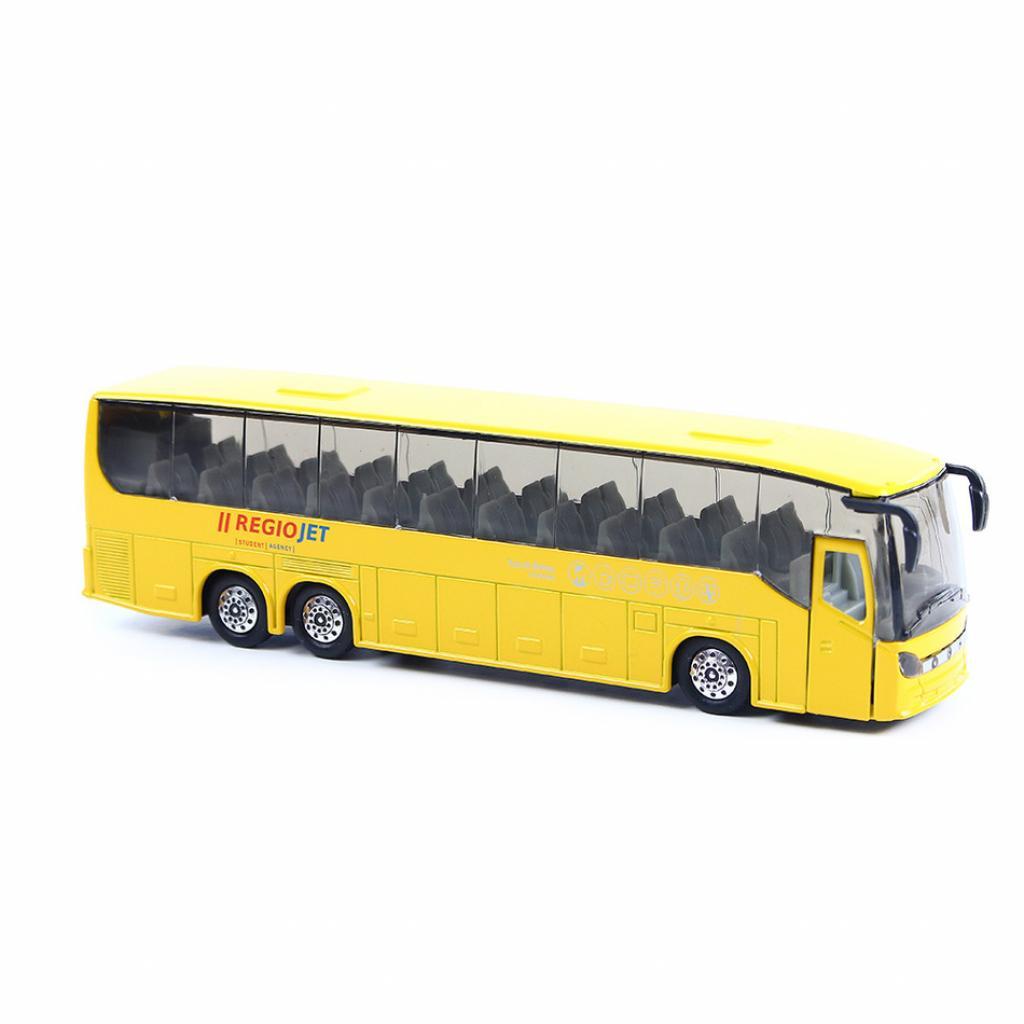 Produktové foto Rappa Kovový autobus RegioJet, 19 cm