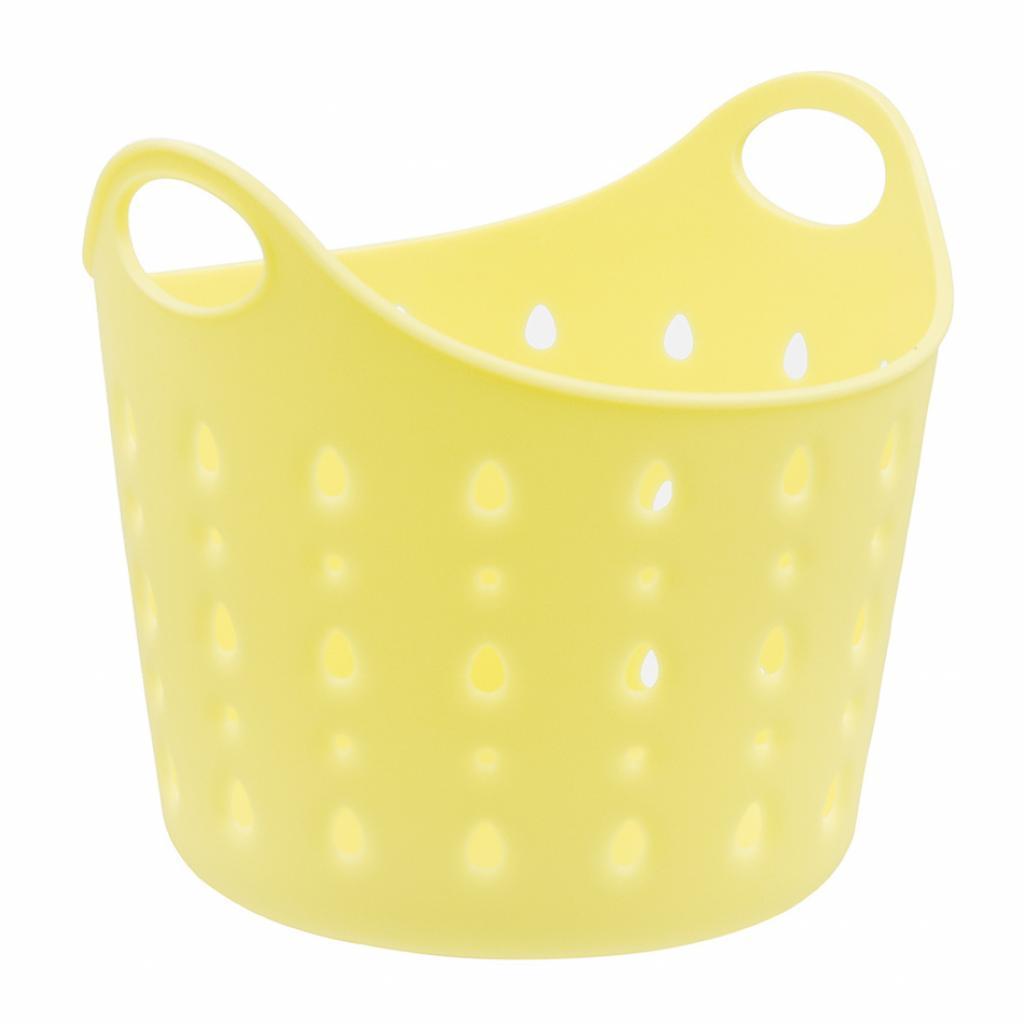 Produktové foto Plastový koš Cubal Libra, 12 x 11 x 11 cm, žlutá
