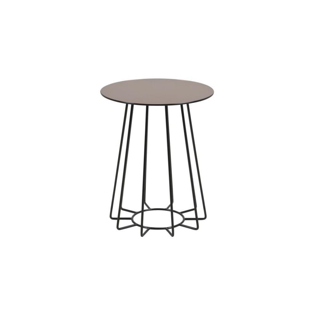 Produktové foto Odkládací stolek v bronzové barvě Actona Casia, ⌀ 40 cm