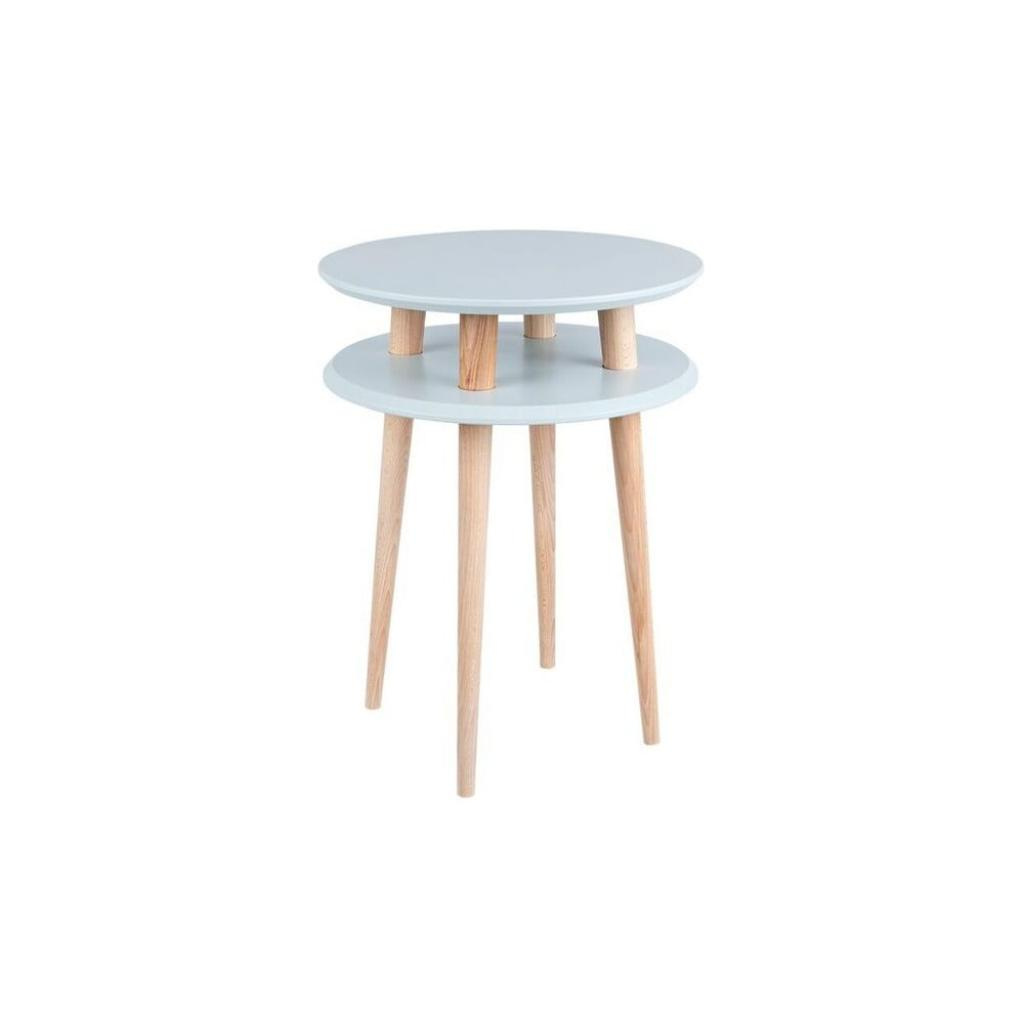 Produktové foto Světle šedý odkládací stolek Ragaba UFO,Ø45 cm