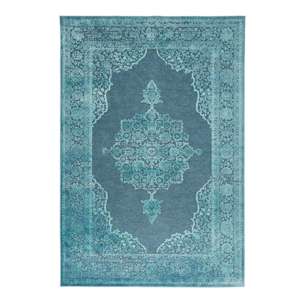 Produktové foto Modrý koberec z viskózy Mint Rugs Willow, 120 x 170 cm