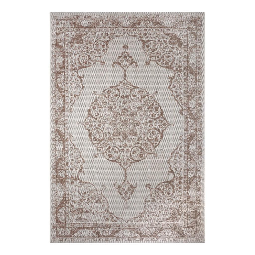 Produktové foto Hnědo-béžový venkovní koberec Ragami Oslo, 160 x 230 cm