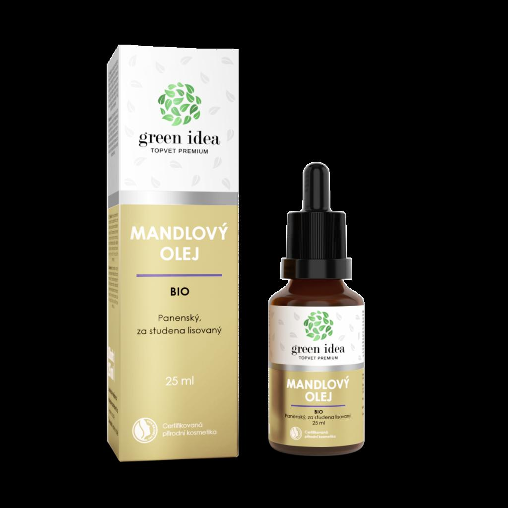 Produktové foto Topvet Mandlový olej BIO, 25 ml
