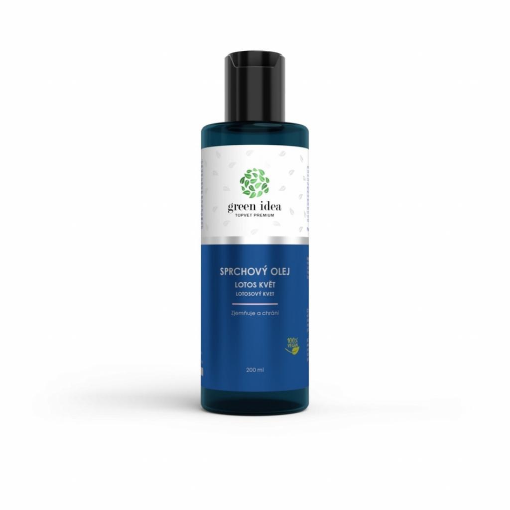 Produktové foto Topvet Sprchový olej Lotosový květ, 200 ml