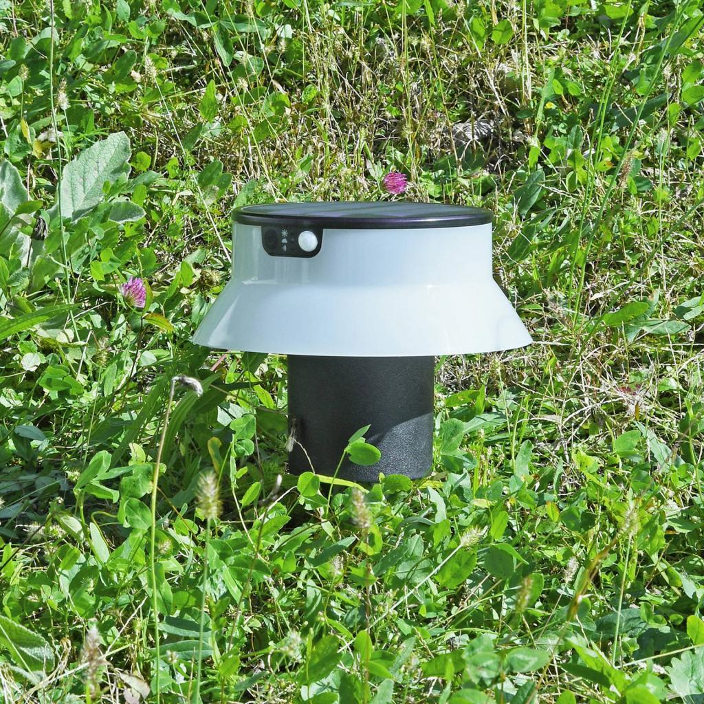 Produktové foto Fumagalli LED solární svítidlo Felice černé CCT s hrotem