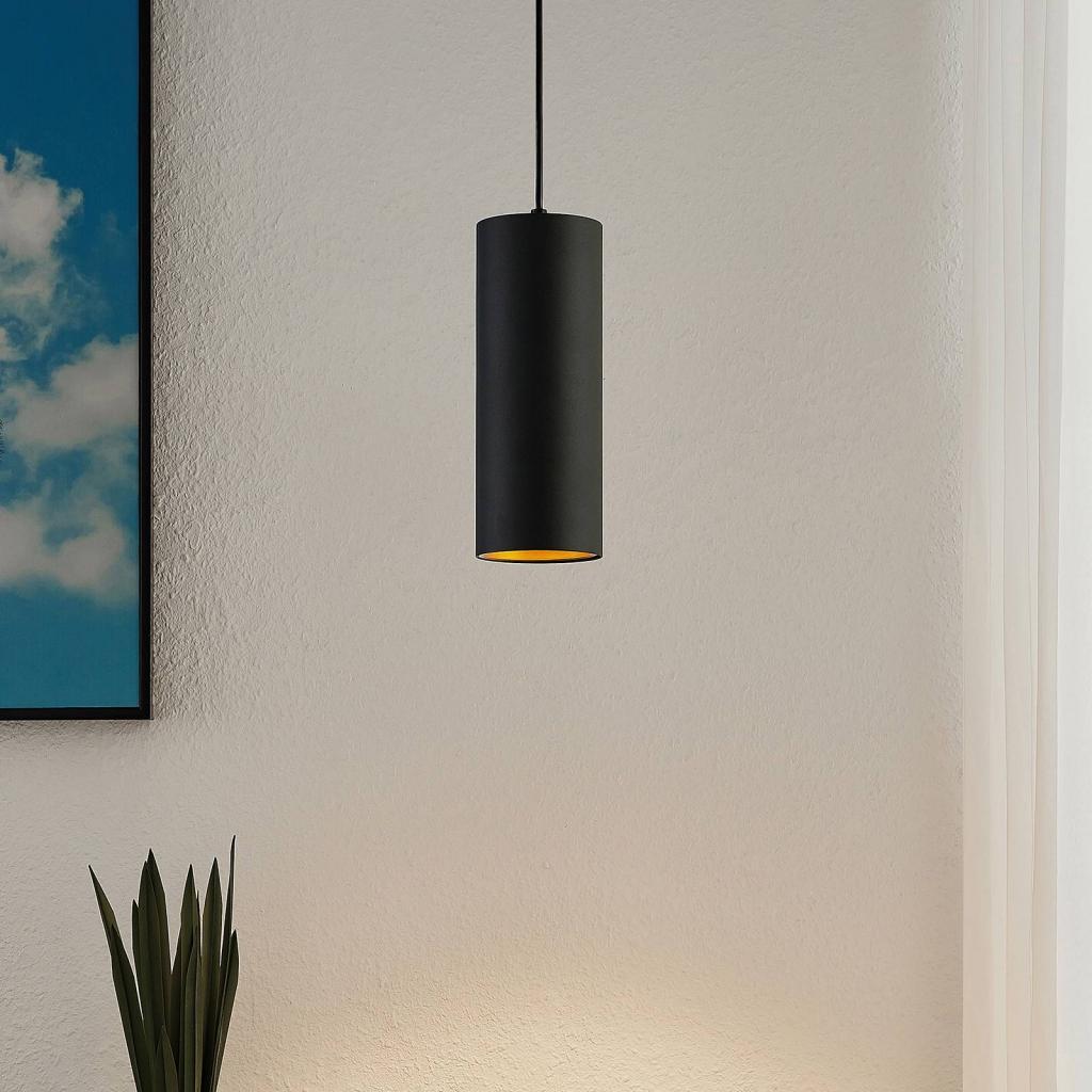 Produktové foto Arcchio Arcchio Marilena závěsné světlo válcový tvar černé