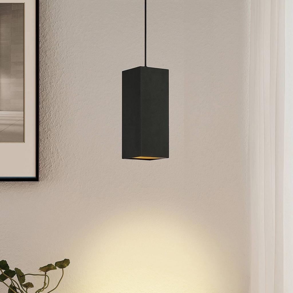 Produktové foto Arcchio Arcchio Marilena závěsné světlo hranaté černé
