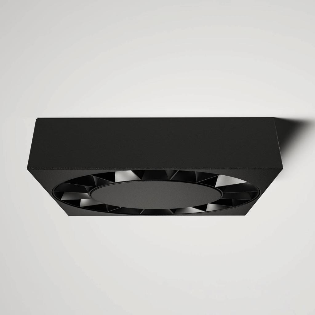 Produktové foto Lucande Lucande Kelissa LED venkovní světlo černé hranaté