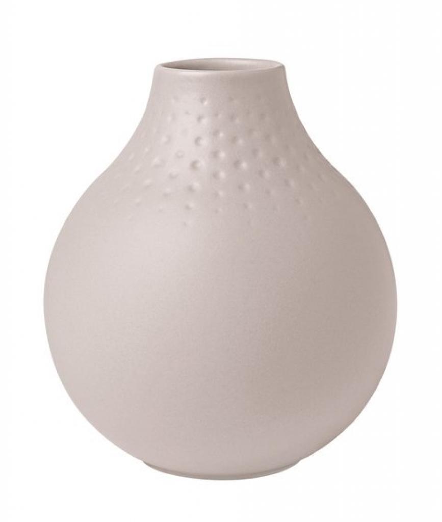 Produktové foto Villeroy & Boch Collier Beige porcelánová váza Perle, 12 cm