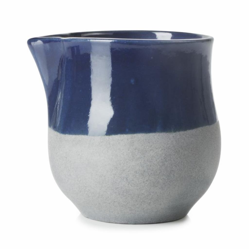 Produktové foto Mléčenka No.W Revol modrá glazovaná 100 ml