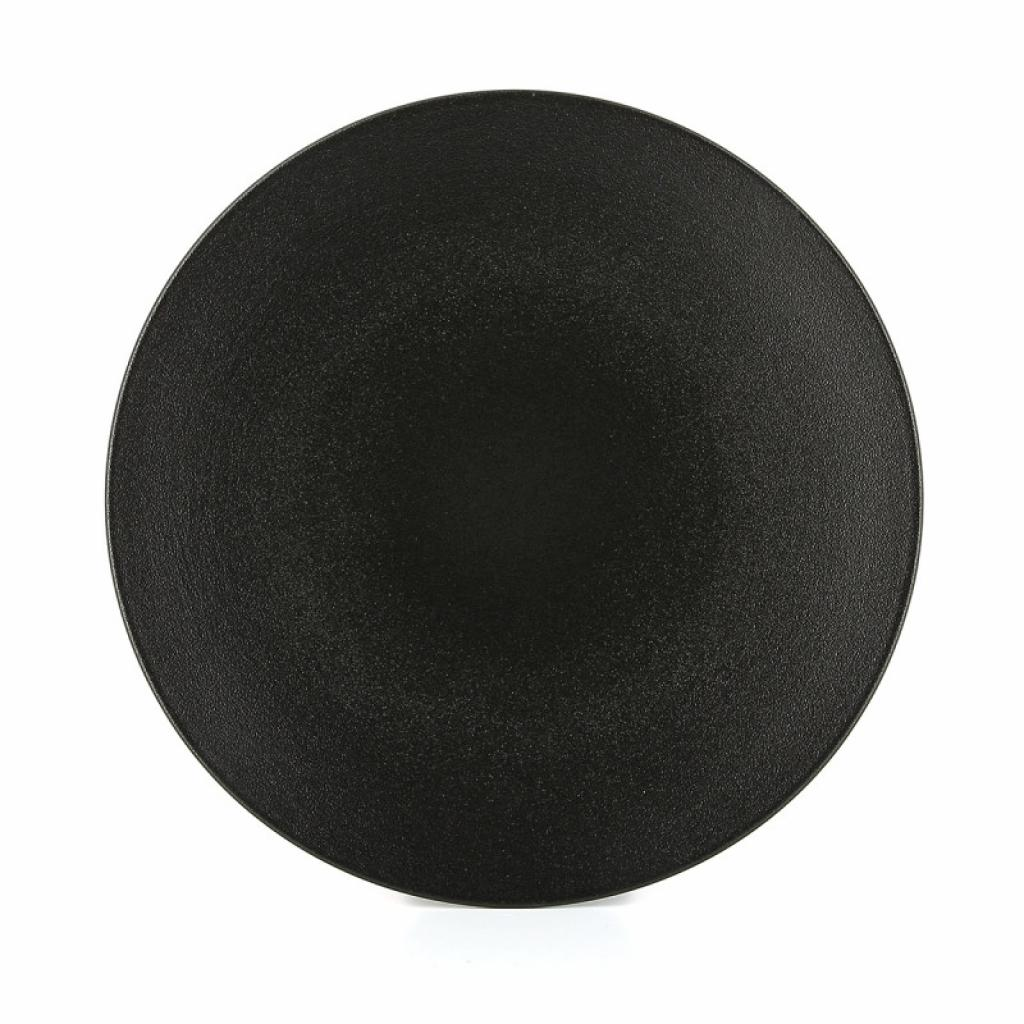 Produktové foto Mělký talíř Equinoxe Revol černý 24 cm
