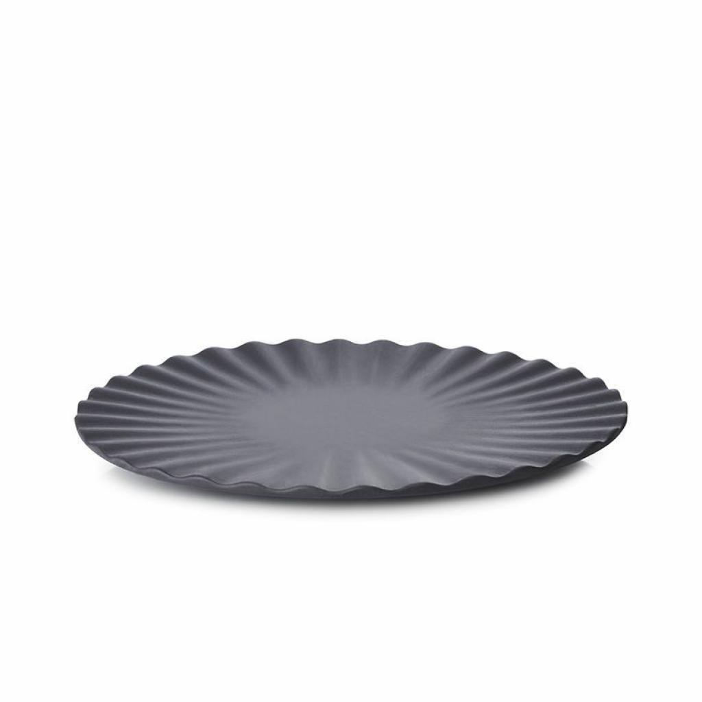 Produktové foto Mělký talíř Pekoe Revol černý 17 cm