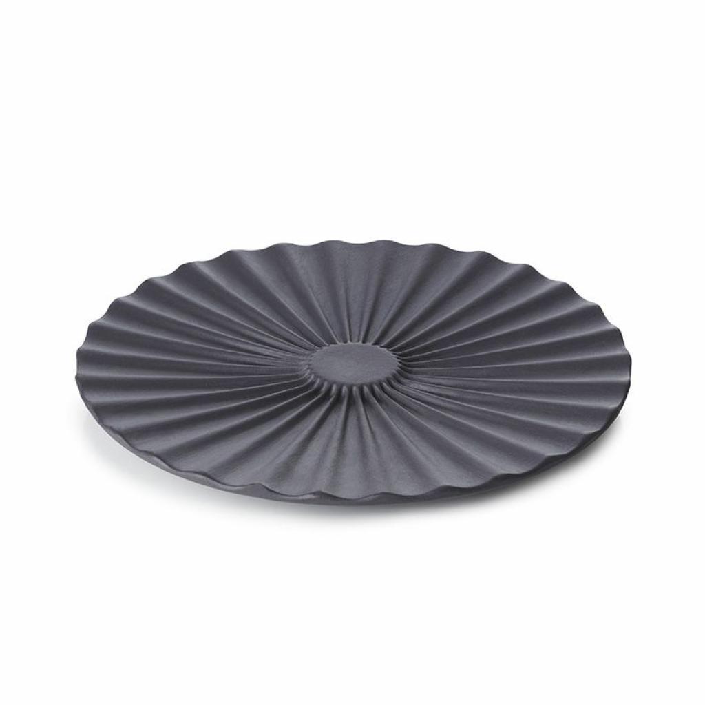 Produktové foto Podšálek pro misku na čaj Pekoe Revol černý 14 cm
